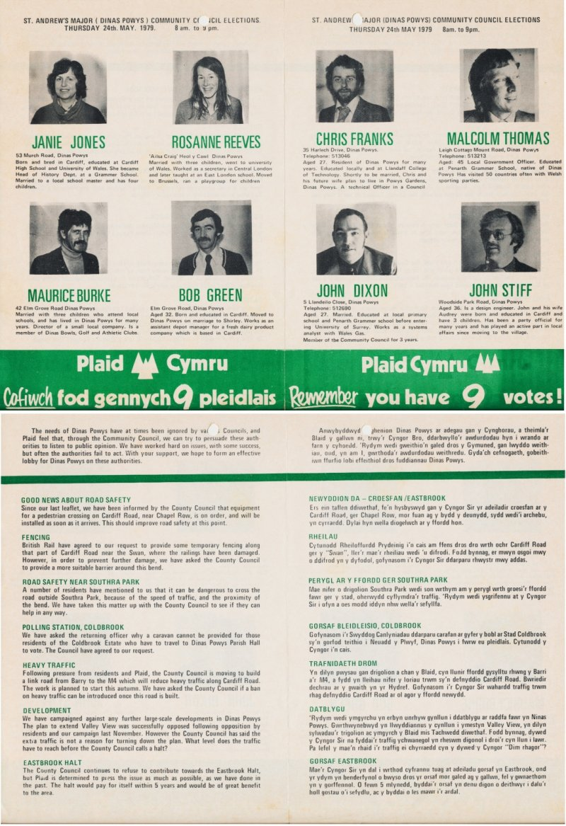 1979 Dinas Powys Community Council