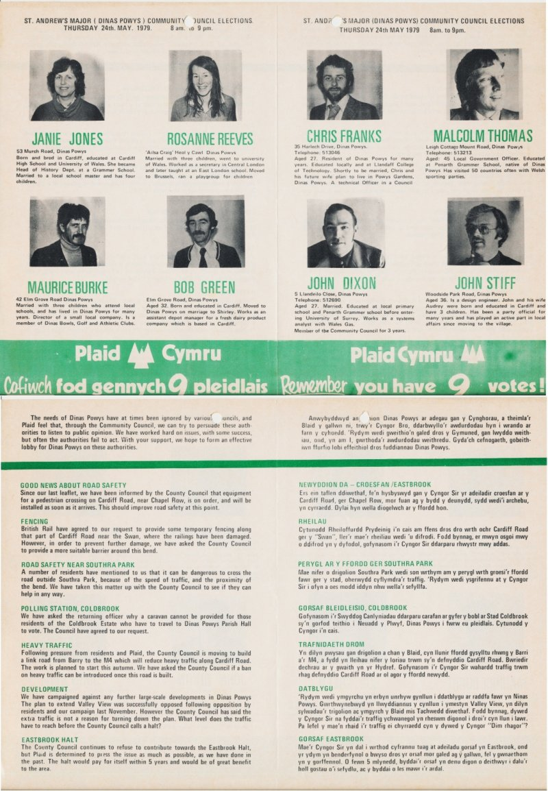 1979 Dinas Powys Community