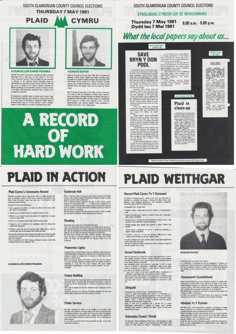 1981 South Glam Dinas Powys