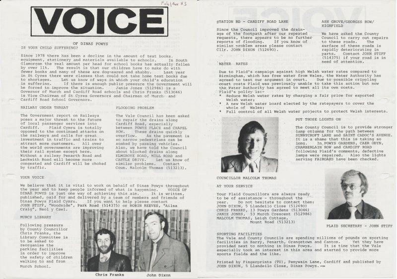 1983m02 Voice Dinas Powys
