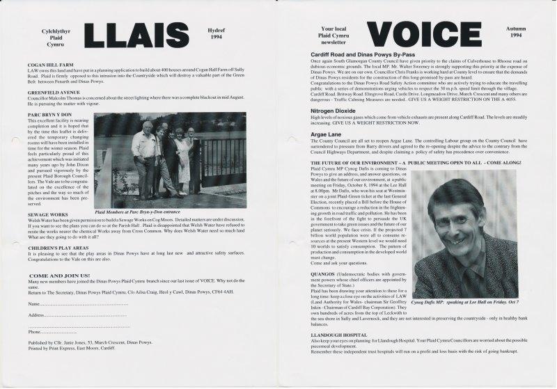 1994m10 Voice Dinas Powys
