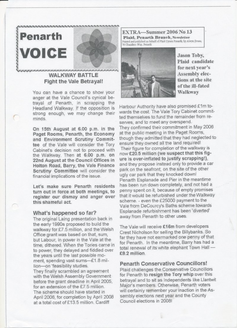 2006 Penarth Voice