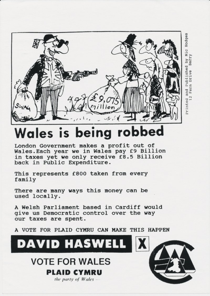1992 VOG David Haswell Wels Robbed