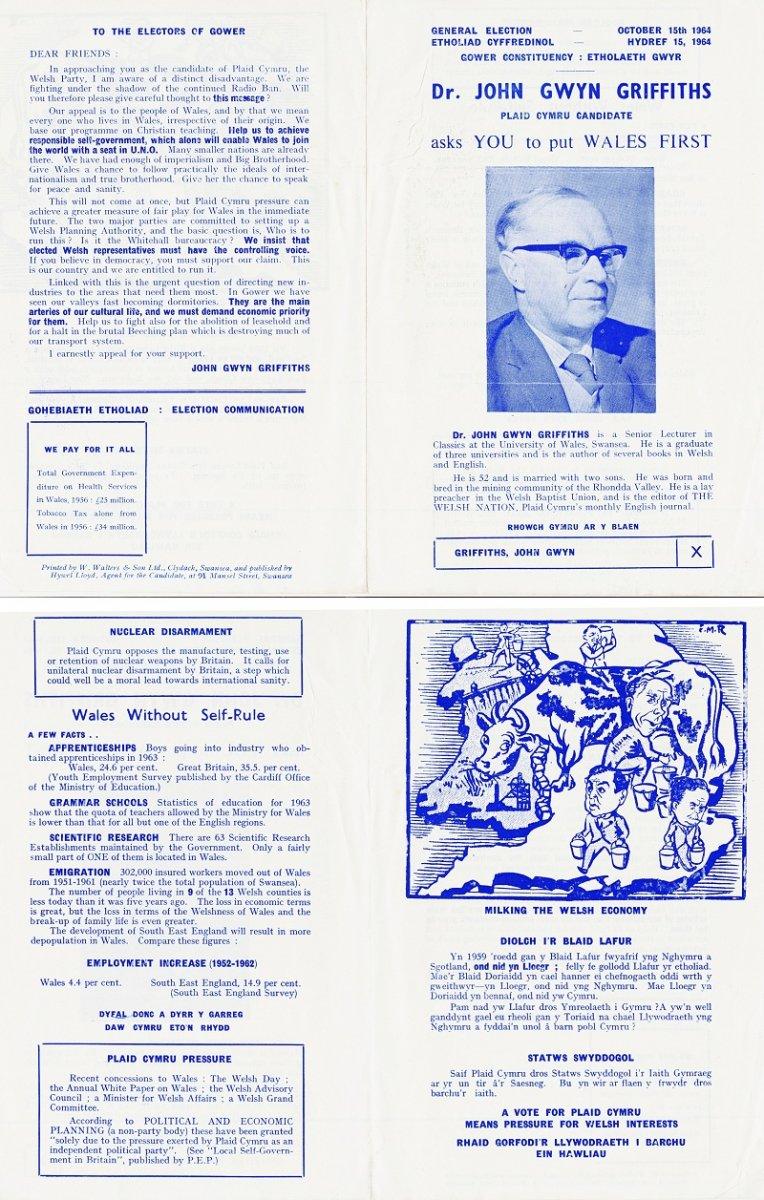 1964 Dr John Gwyn Griffiths Etholiad Cyffredinol