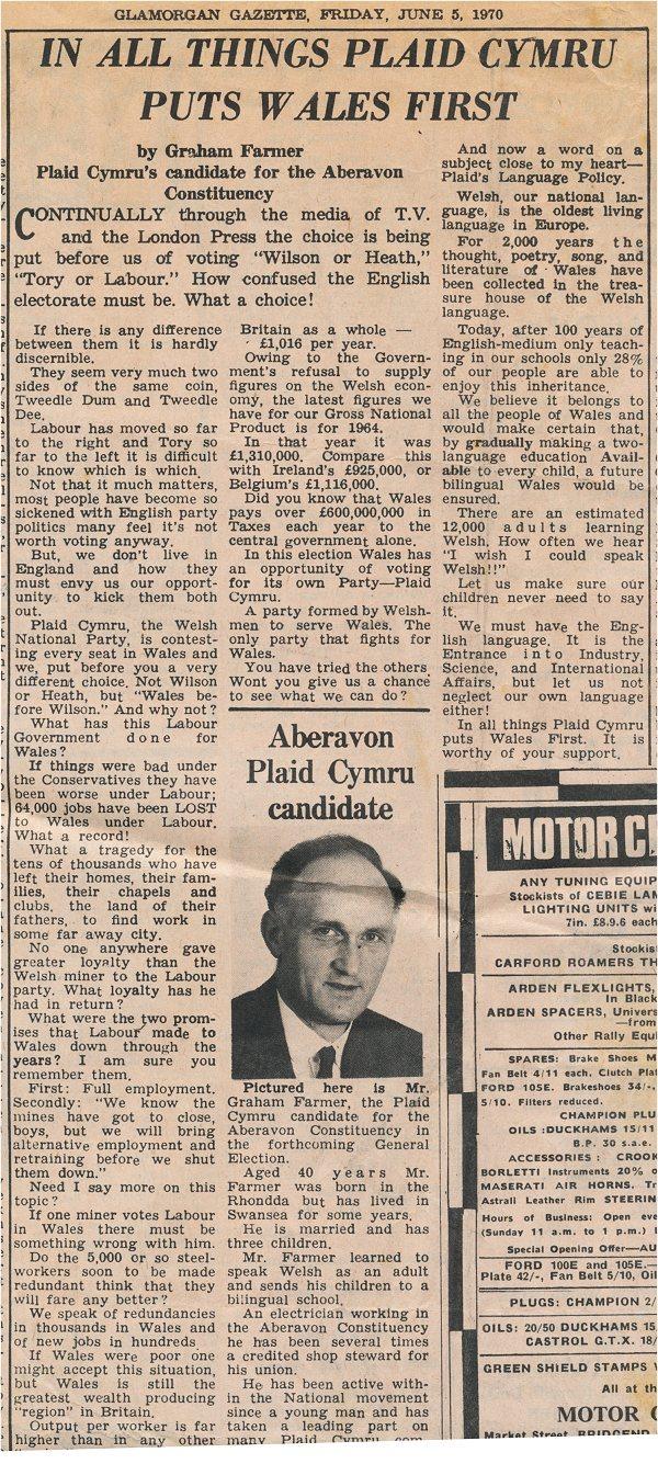 1970m06d05 Glamorgan Gazette