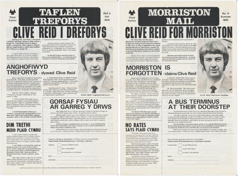 1975 Treforus Clive Reed