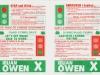 1982 Abertawe Ieuan Owen Stop