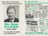 1991  Dr Dewi Evans Castell Nedd