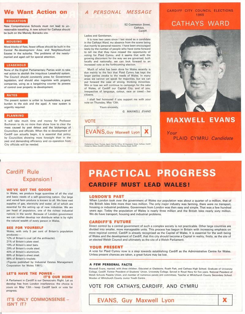 1965 Maxwell Evans