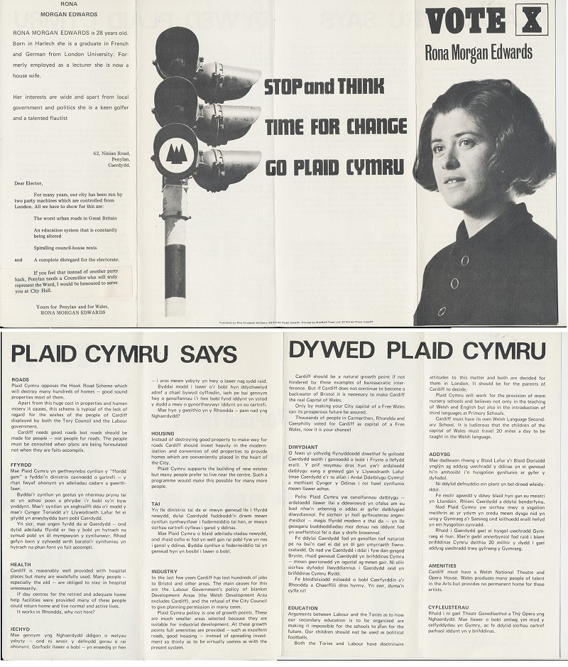 1970 Rona Morgan Edwards Penylan