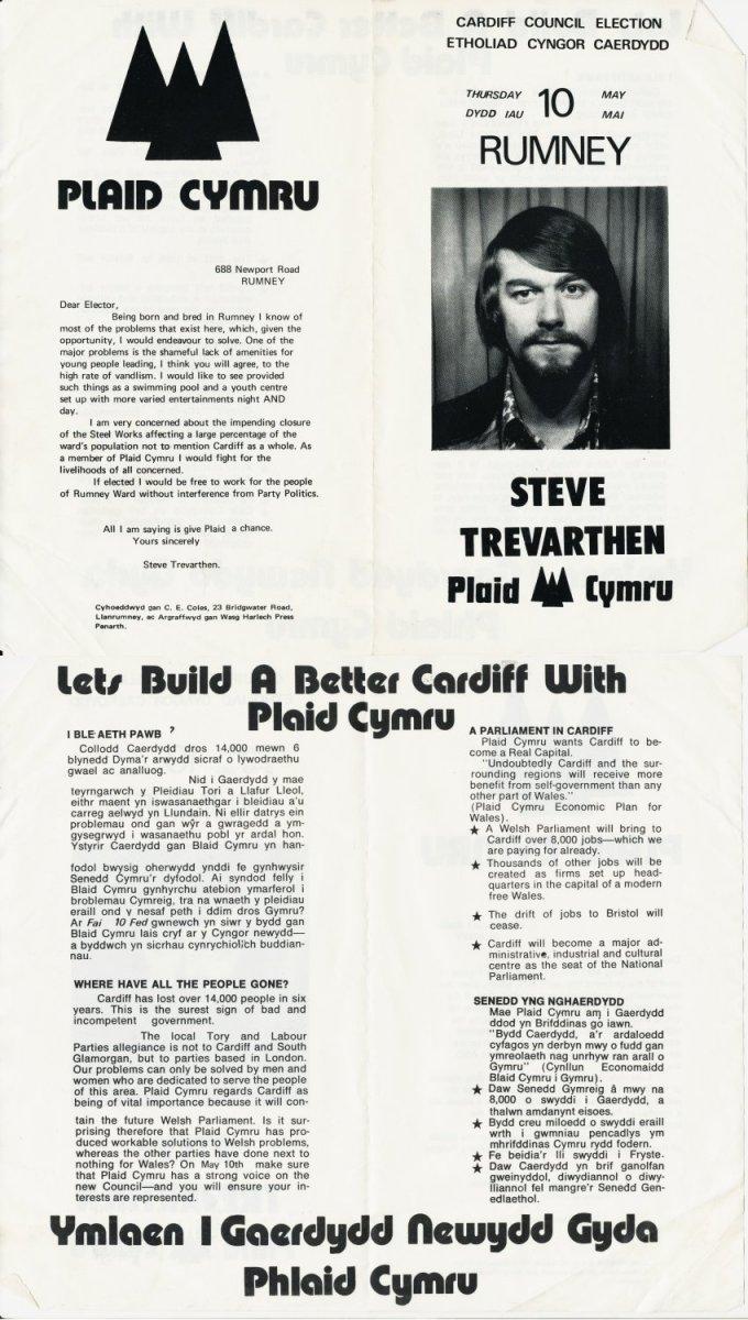 1972 Steve Trevarthen