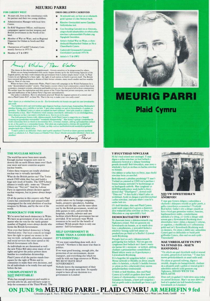 1979 Meurig Parri