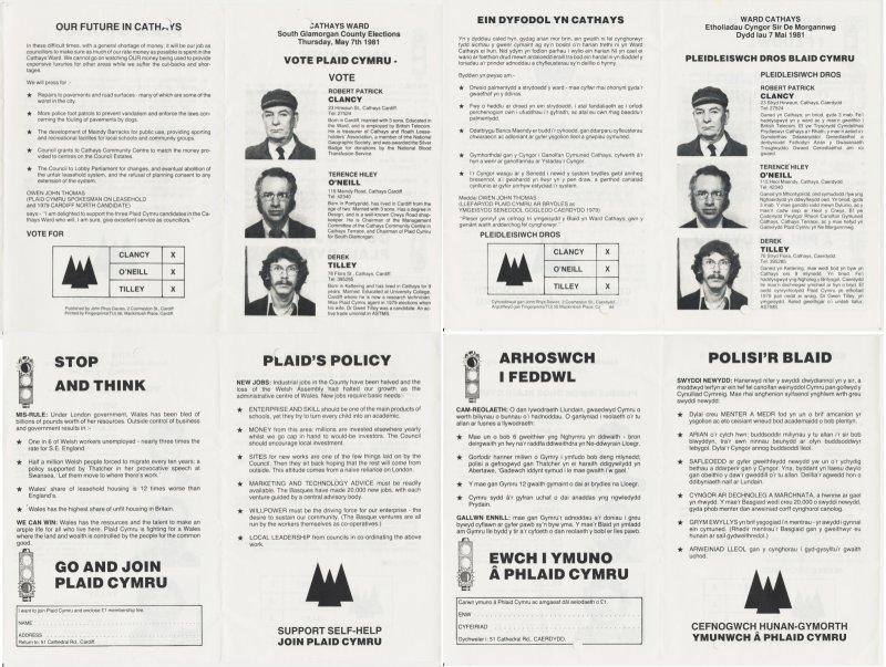 1981 Caerdydd Cathays