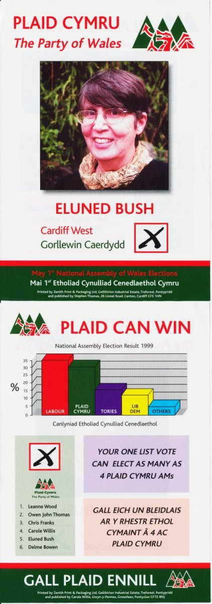 2003 Eluned Bush