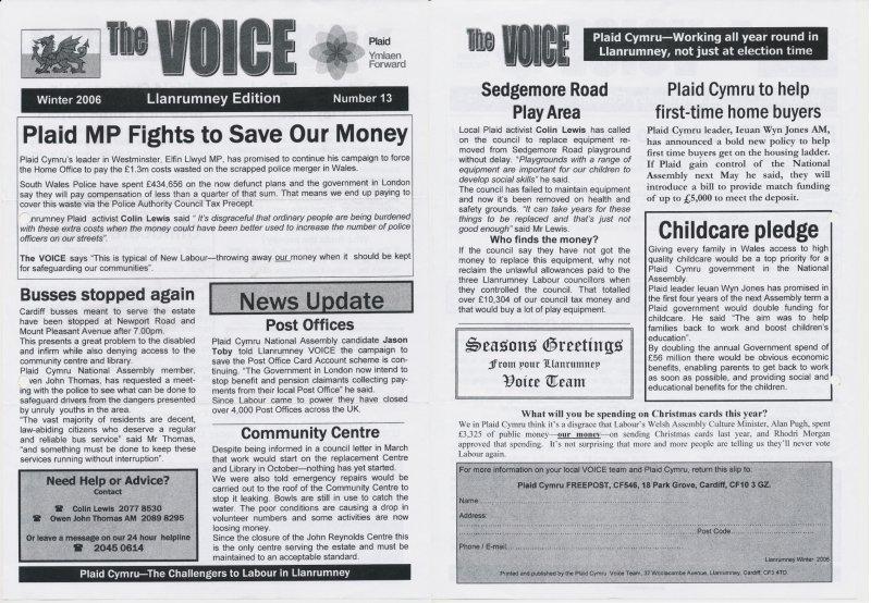 2006 Llanrumney Voice