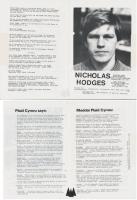 1985 Pontcanna Nicholas Hodges