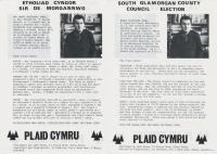 1985 South Glam Harri Pritchard Jones