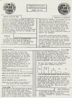 1986 Fairwater Pentrebane Newsletter