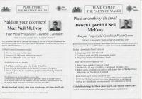2006x Neil McEvoy Assembly Candidate