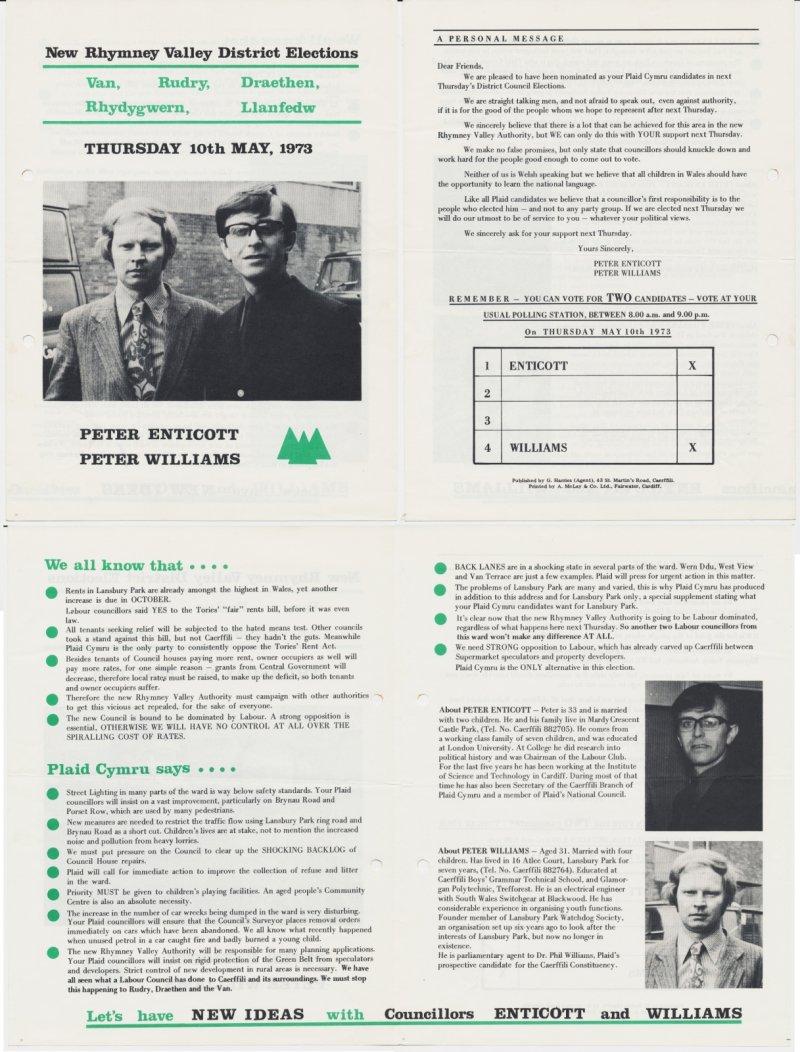 1973 Rhymney Rudry