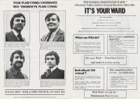 1976 Rhymney Penyrheol