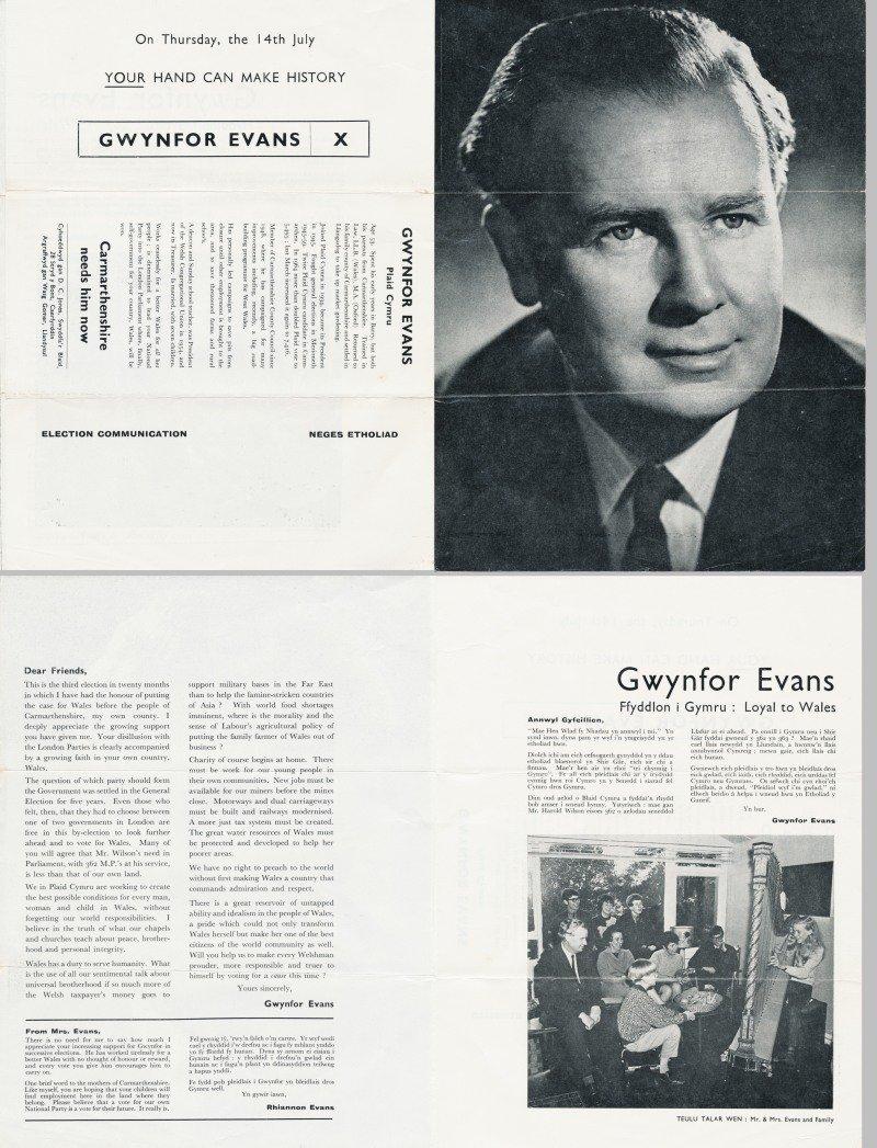 1966 Gwynfor Evans