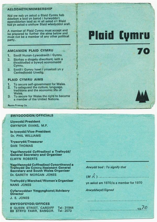 1970-cerdyn-aelodaeth