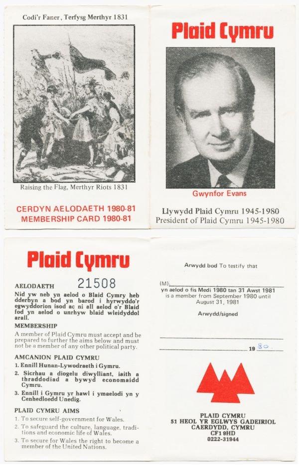 1980-cerdyn-aelodaeth