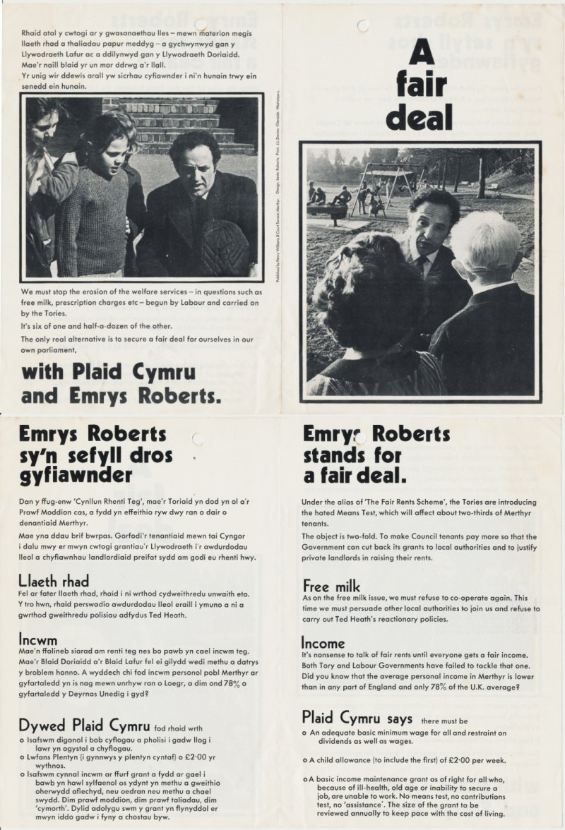 1970x Emrys Roberts fair Deal