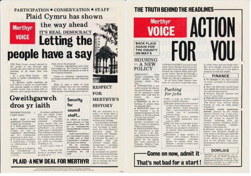 1976x Merthyr Voice