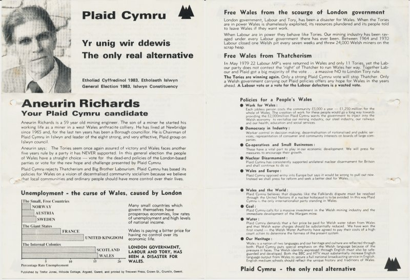 1983 Islwyn Aneurin Richards