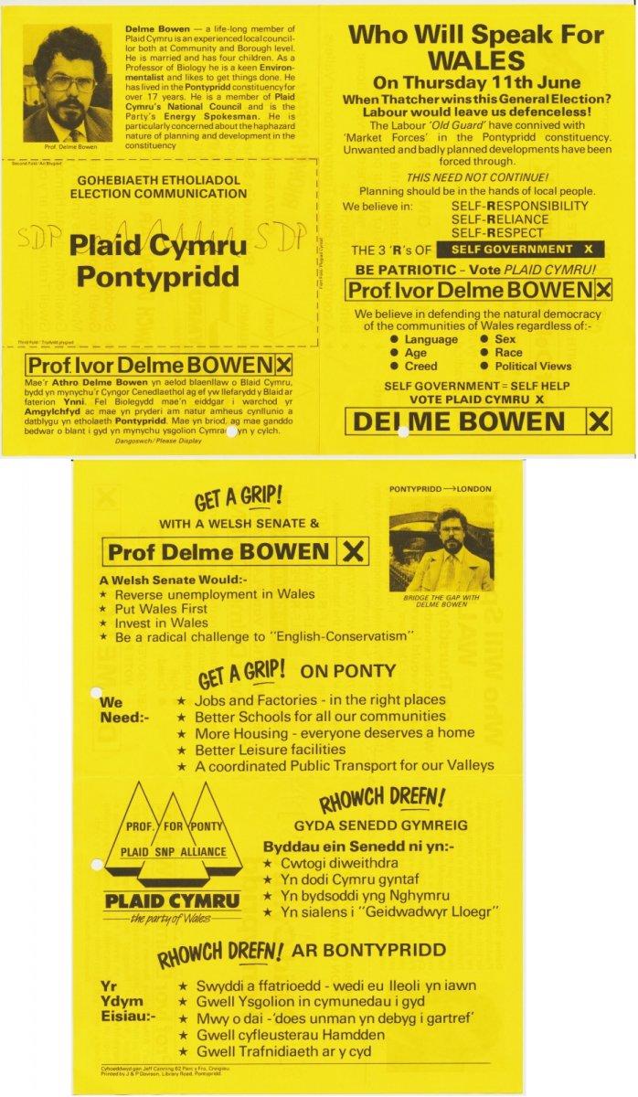 1999x Pontypridd Delme Bowen