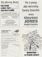 1981m05 Pontypridd Morning Decider Clayton Jones