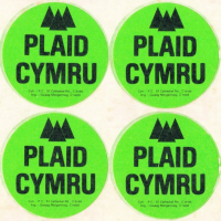 1985x Plaid Cymru Sticer