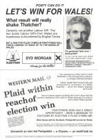 1989 Syd Morgan LastMinute Leaflet b