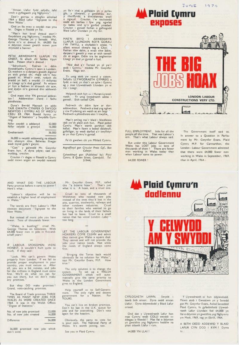 1970 Big Jobs Hoax