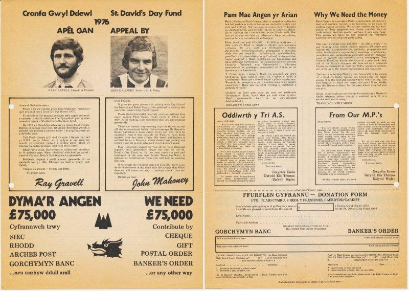 1976 Apel Gwyl Ddewi