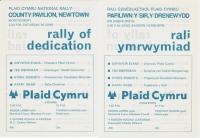 1971 Rally Drenewydd