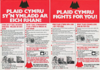 1977x Plaid Cymru Ymladd