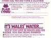 1977 Cymru biau'r dŵr