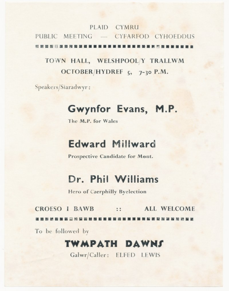 1968m10-Cyfarfod-Welshpool