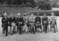 1927 Pwyllgor Gwaith yn Ysgol Haf Llangollen