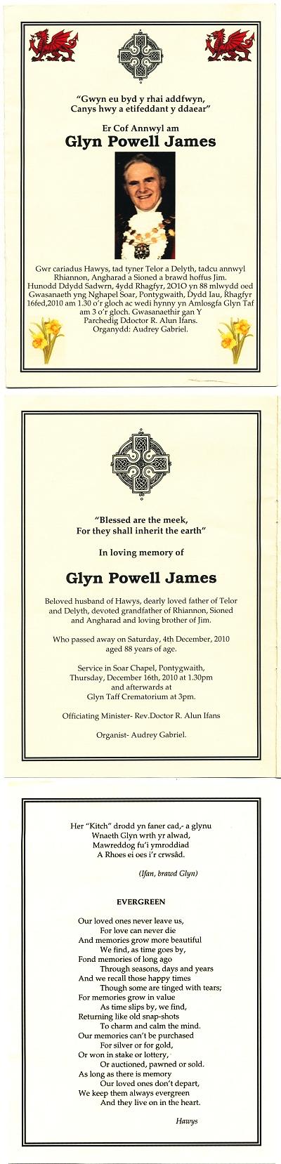 2010 Glyn James