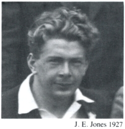 1927 J E Jones