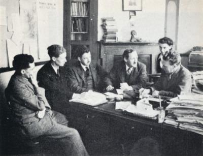 Cynllunio strategaeth dwy blaid genedlaethol – Aelod Seneddol cyntaf yr SNP Dr Robert McIntyre yn ymuno ag arweinwyr Plaid Cymru, 1945