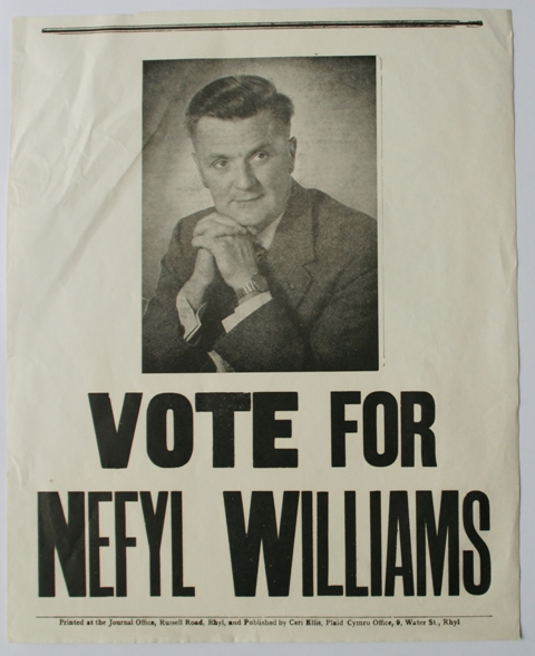 First Parliamentary Election Campaign in Flintshire 1959