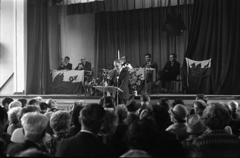 1966 Dolgellau Dathlu Gwynfor 1a