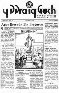 1947 Tregaron Y Ddraig Goch Tachwedd