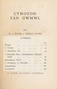 DJDavies 1938 Cymoedd tan gwmwlb